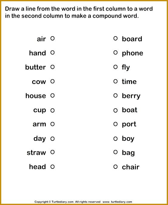 7 First Grade Worksheets