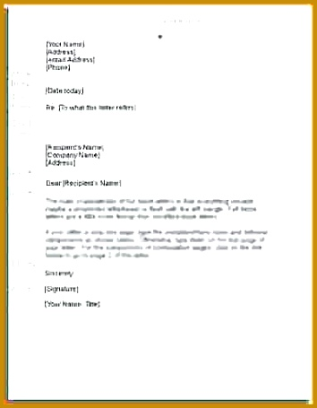 how to write business letter writing a formal business letter rules for writing formal letters in 455354