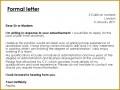 5 formal Letter Vs Informal Letter