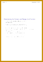 Worksheet Function Notation 8 pages Determining the Domain and Range of a Function 216152