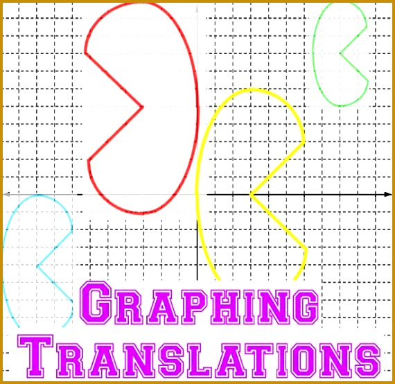This packet helps students practice translating functions when a graph is given to them 8 554570