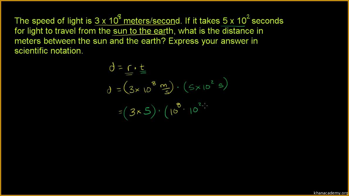 Multiplying & dividing in scientific notation practice 6691190