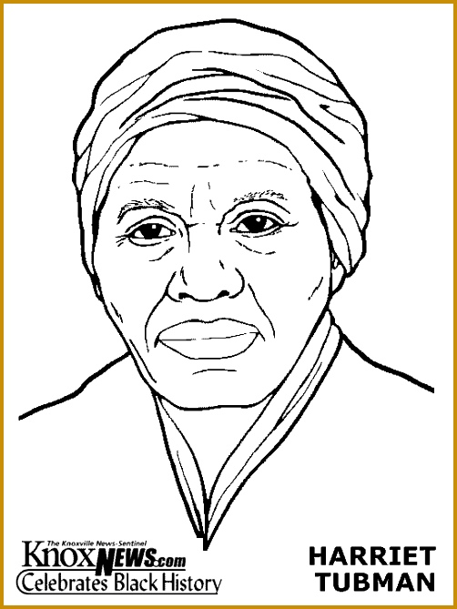Harriet Tubman Coloring Pages 669502