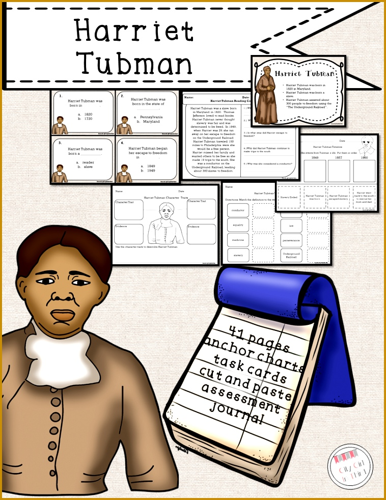 Harriet Tubman for Primary Students 982758