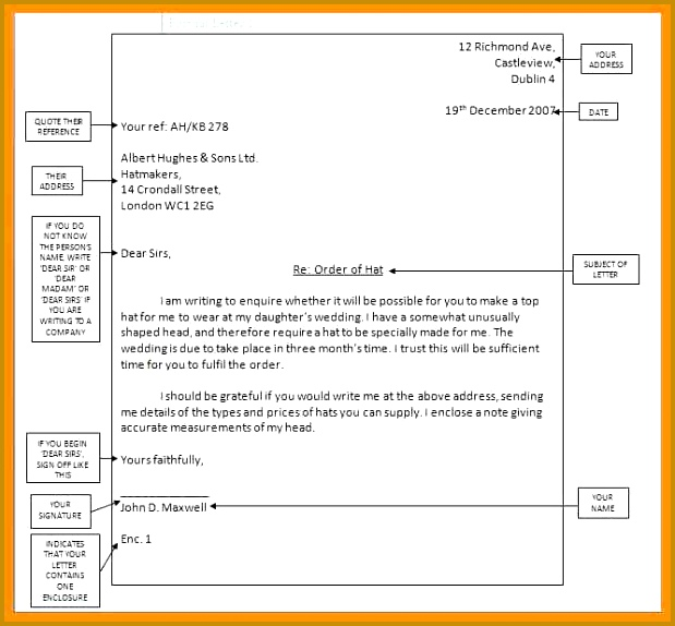 writing formal email sample Formal1 574619