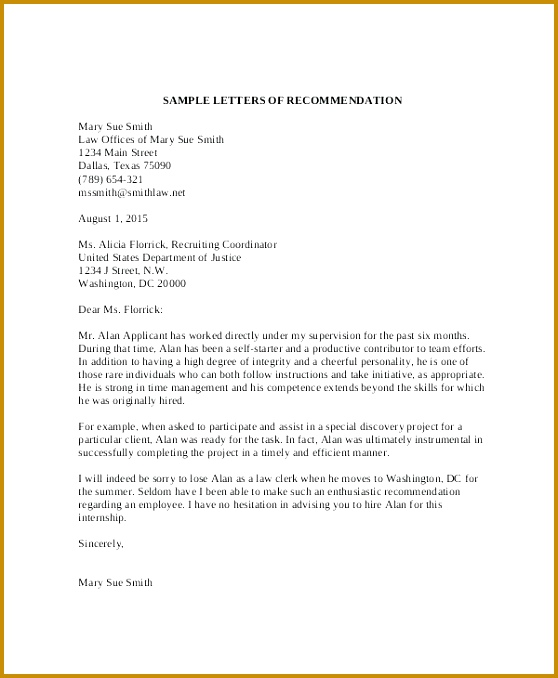 7 How to Write An Academic Recommendation Letter