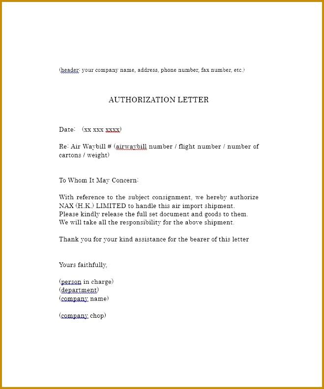 authorization letter 33 791659