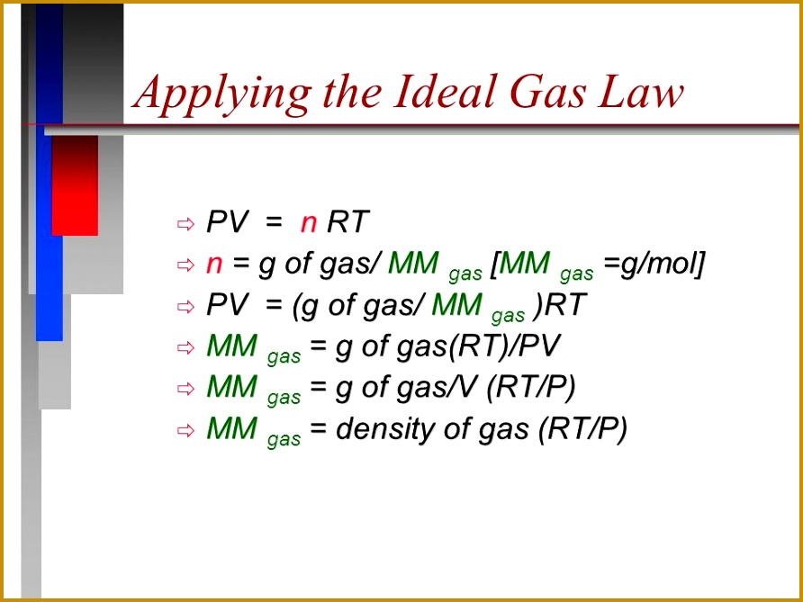 62 Applying the Ideal Gas Law 669892