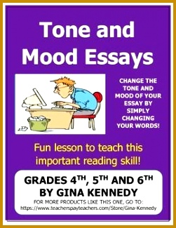 """Putting the Life Back in Upper Elementary Classrooms e Lesson at a Time "" Author s Tone and Mood Teaching Ideas that Make it Meaningful 325251"
