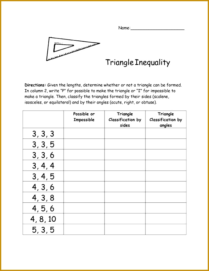 Triangle Inequality Theorem to use with straws 885684