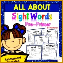 Free Sight Words Practice Pages 219219