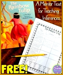 This blog post contains a FREE inference worksheet that can be used as a followup activity 258219