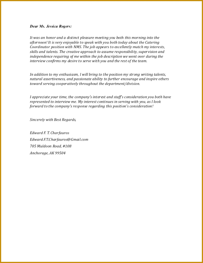Interview Confirmation Email Sample 52012 Letter Email Interview Thank You Copyright 2013 Edward F T Char…