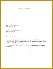 Format Sponsor Letter For Visitor Visa Usa Letter And SampleVisa Invitation Letter To A Friend Example 283219