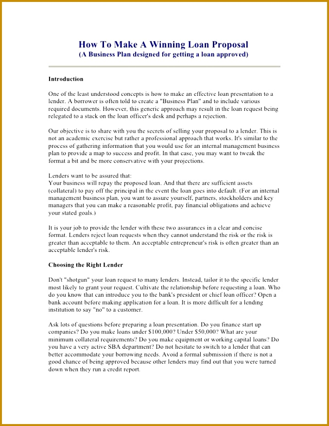 introduction letter to bank template 68755 sample cover letter for business loan proposal