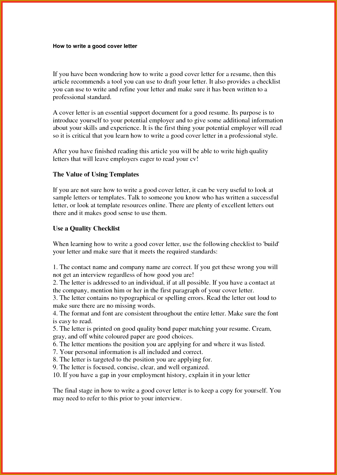 how to create cover letter how to make 16491171