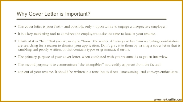 importance of cover letter the importance of a cover letter 333593