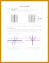 11 Pages Inverse Functions 216167