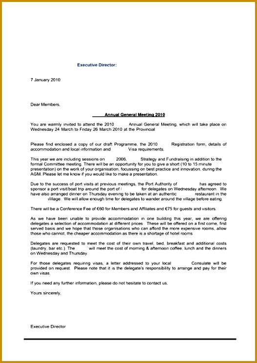 Invitation letter 744526
