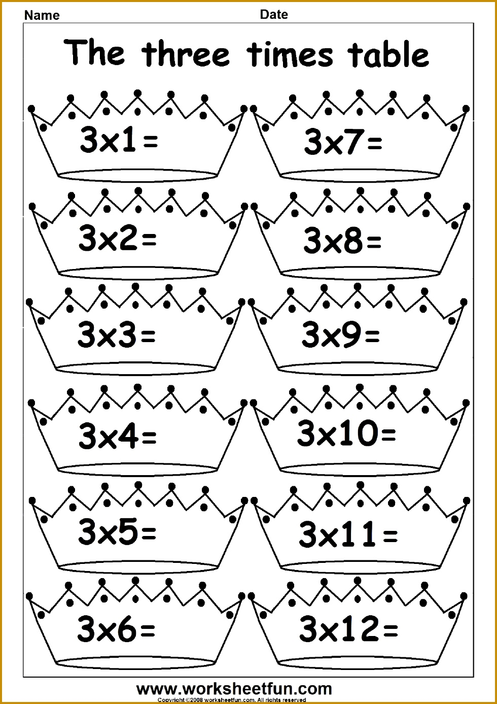 11 and 12 Times Table Fun times table worksheets 1387980