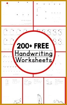 Kids Worksheets 59383 Handwriting Worksheets for Kids Free Fun and Fabulous