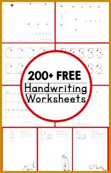 200 free handwriting worksheets 341219