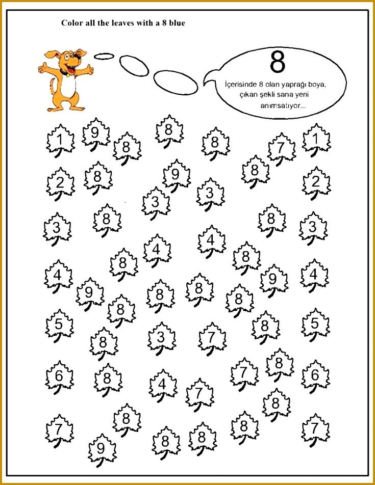 Kids Worksheets 90448 Number Hunt Worksheet for Kids 16