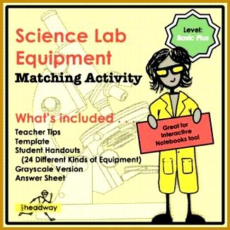 Science Lab Equipment Match Basic Plus Level 325325