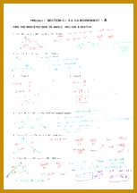 1 pages Triangle Angles Review Answer Key 216153
