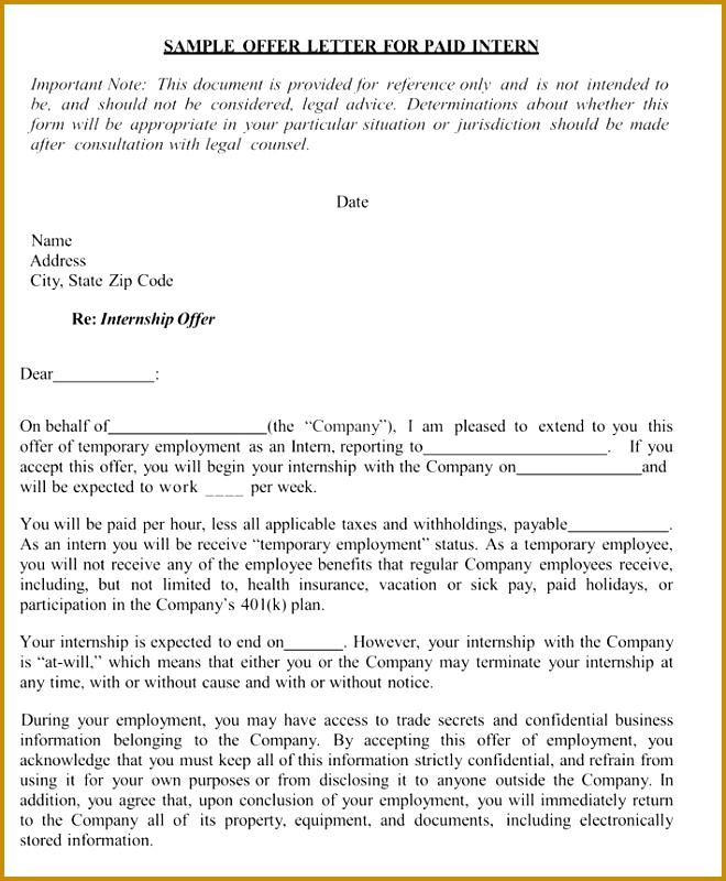 Legal Advice Letter Template 44095 Internship Reference Re Mendation Letters 8 Best Samples