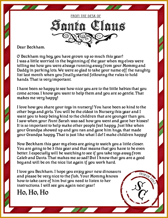 Best 25 Letter From Santa Template Ideas Pinterest Letter Santa Letter To Child Templates Santa 744574
