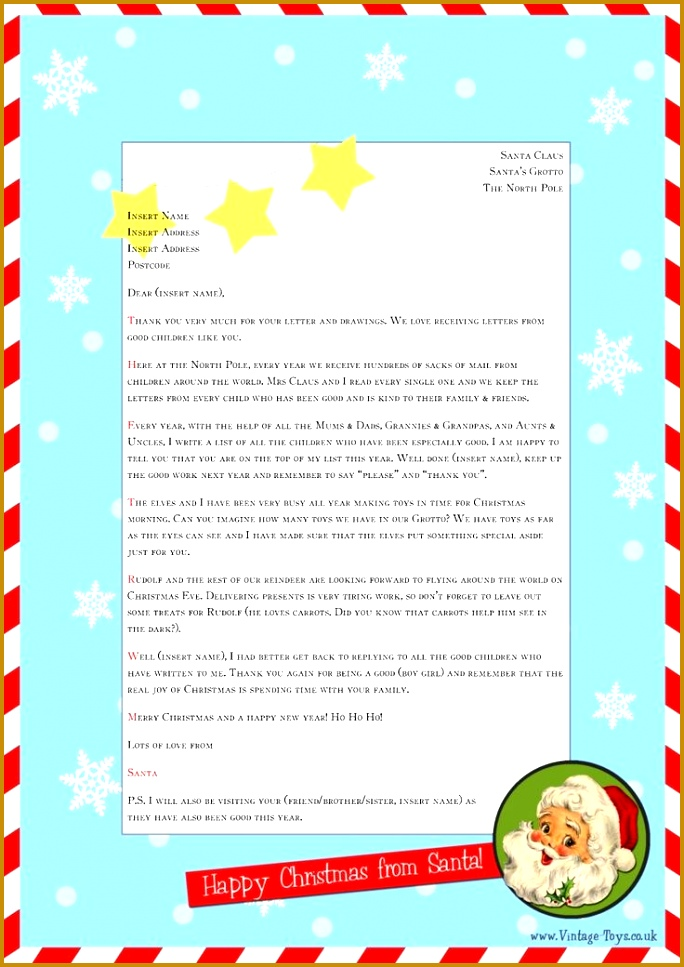 Best 25 Letter From Santa Template Ideas Pinterest Letter Santa Letter Reply Template Santa Letter 967684