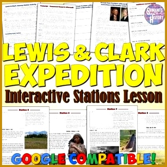 Lewis and Clark Expedition Stations Lesson 325325