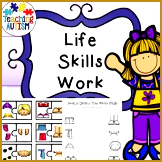 Life Skills Recognition Body & Clothes What Goes To her This product includes body and 325325