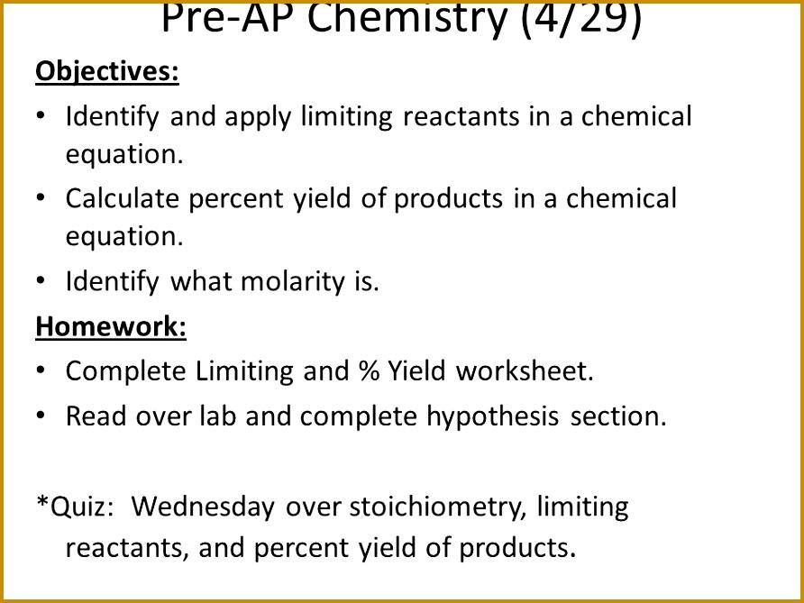 4 Limiting Reactant Worksheet Fabtemplatez