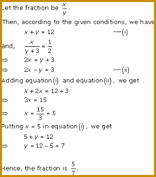 Linear Equations Worksheet 53743 Pair Of Linear Equations In Two Variables Class 10 solutions