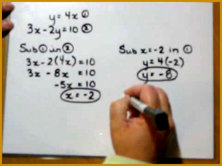 Linear Equations Worksheet 57829 Pair Of Linear Equations In Two Variables Videos Part 1 Digital