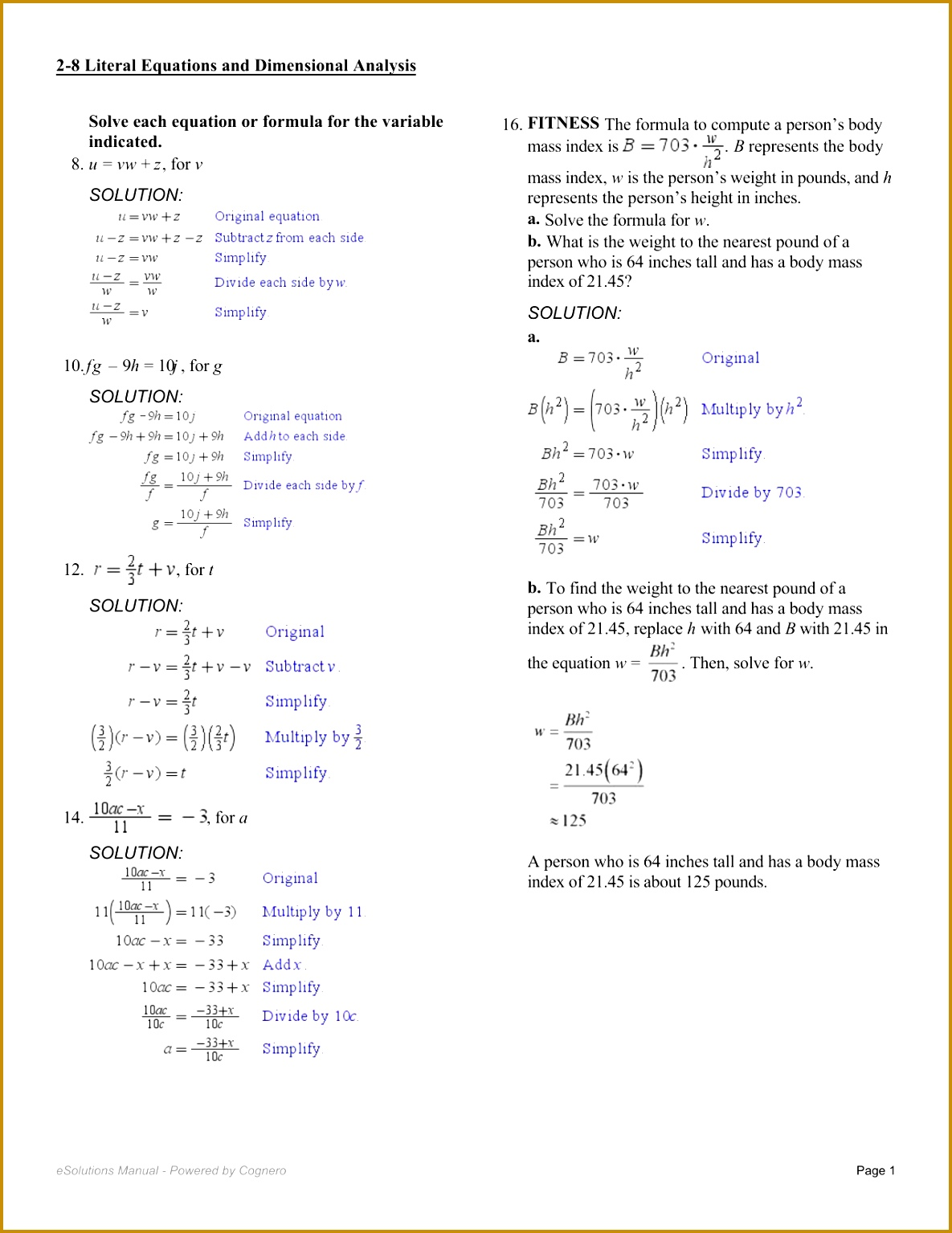 5 Literal Equations Worksheet Fabtemplatez
