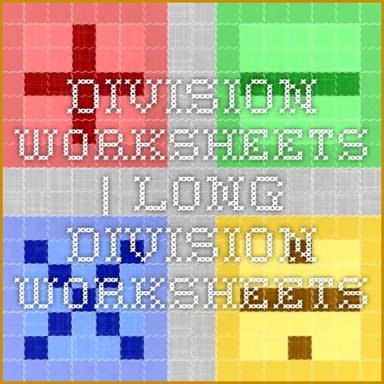 Division Worksheets 558558