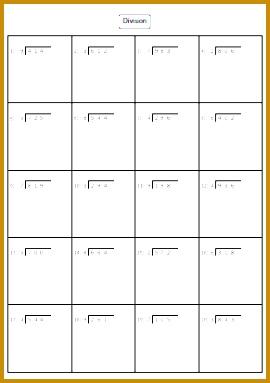 Division Worksheets 383270