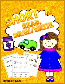 25 PAGES of differentiated worksheets to practice consolidate the SHORT A VOWEL sound through reading 284219