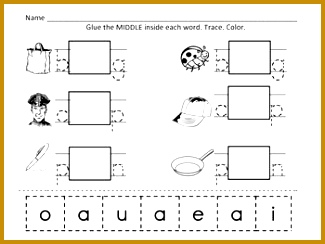 Middle Sounds Phoneme Isolation 244325
