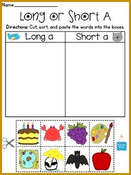 Long and Short Vowel Discrimination Worksheets MEGA Pack 267357