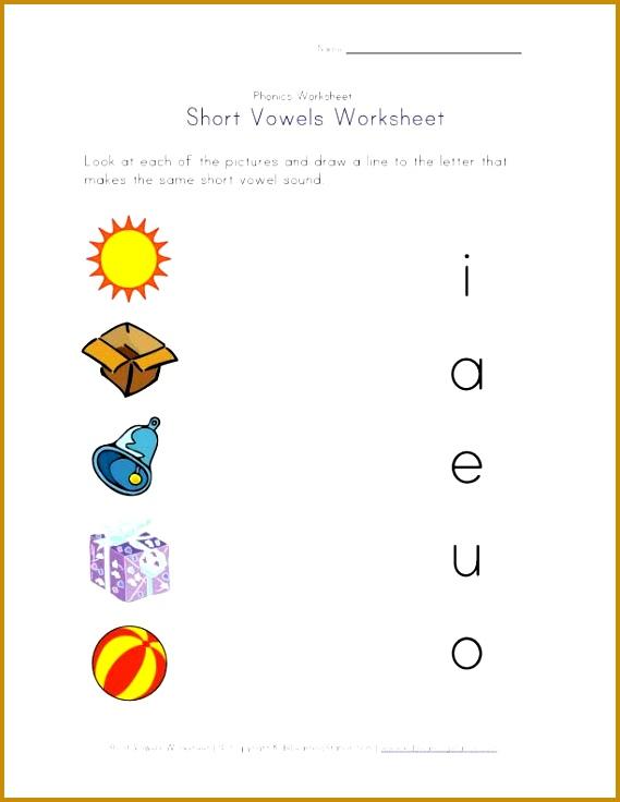 short vowel matching worksheet 736569