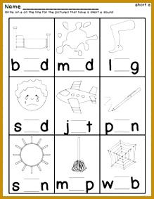 Short Vowel Practice Worksheets 283219