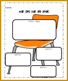 main idea worksheet 279237
