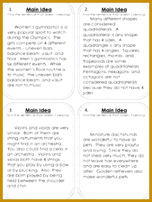 FREE Main Idea practice Kalena Baker TeachersPayTeachers 290219