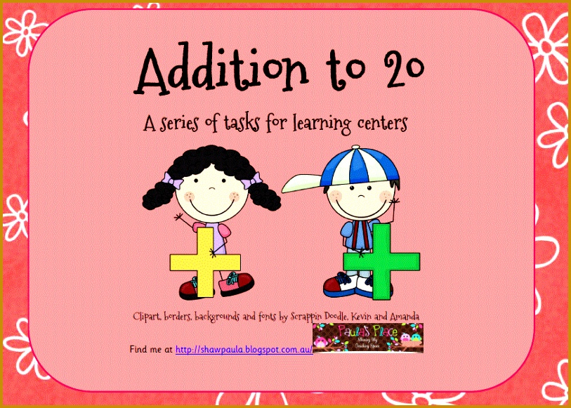 Addition to 20 includes Subitising Cards – Ten Frames 17 pages Counting 581813