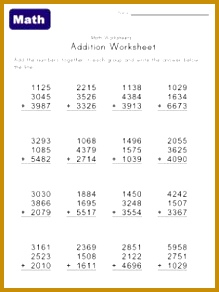 Math Worksheets Printable 292219