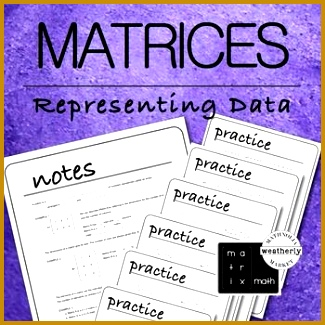 MATRICES Real World Applications 325325